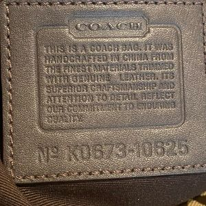 Coach Bags - COACH Signature 🔥 Authentic Leather Trim Bag 💅🏾